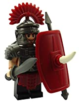 Brick Brigade Custom LEGO Brick Warrior Pack Make-A - Roman Legionnaire - No Minifig Included