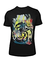 Om With Shiva Black T-shirt