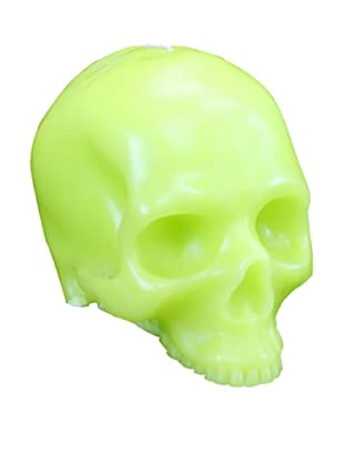 D.L. & Co. Skull Candle, Green, Medium