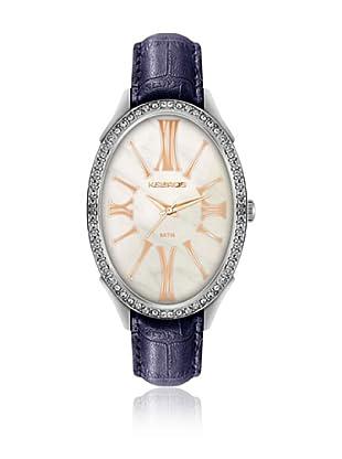 K&Bros  Reloj 9169 (Blanco / Violeta)
