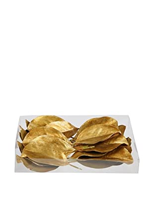 24-Piece Majestic Gold Leaves