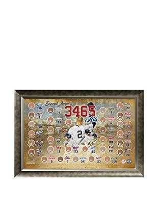 Steiner Sports Memorabilia Derek Jeter 3,465 Career Hits MLB