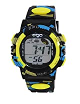 Ego by Maxima Digital Black Dial Men's Watch - E-37181PPDN