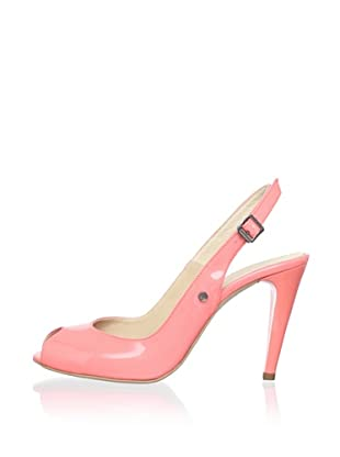 C'N'C CoSTUME NATIONAL Women's Patent Slingback (Coral)