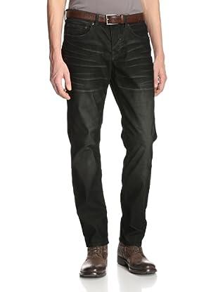Stitch's Men's Barfly Slim Straight Corduroy Pant (Dark Moss)