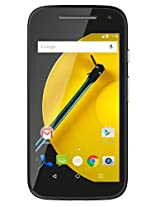 Moto E 2nd Generation (4G, Black)