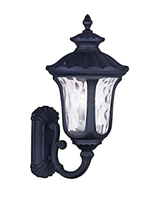 Crestwood Oakley 3-Light Wall Lantern, Black