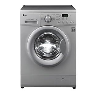 LG 6 Kg F10B5NDP25 Front Loading Fully Automatic Washing Machine-Luxury Silver