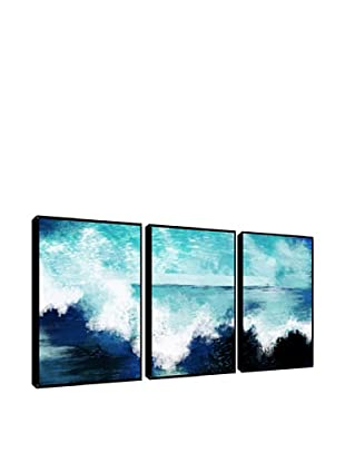 Ocean Waves Giclée Triptych Box