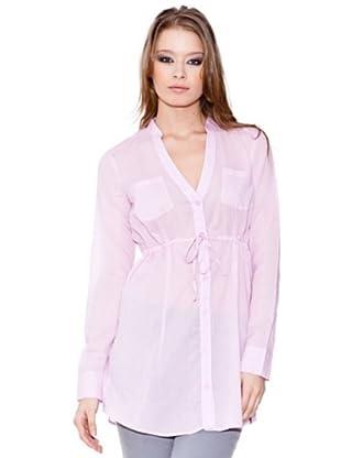 Esprit Camisa Larga (Rosa)