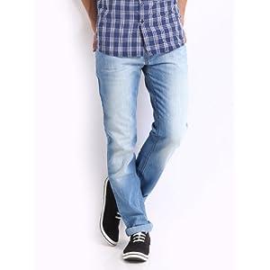 Newport Men Blue Havre Straight Fit Jeans