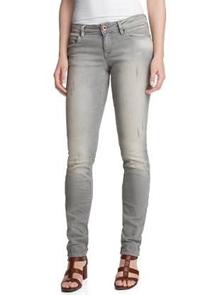 edc by Esprit Jeans Grey Slim Destroyed