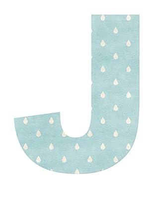 Letra Decorativa Letra J