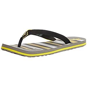 Puma steeple grey 8 UK rubber men's Flip Flops