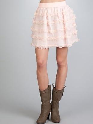 Naf Naf Falda (rosa claro)