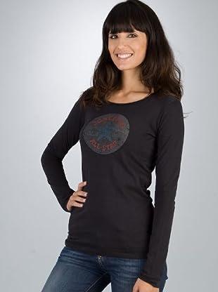 Converse Camiseta (Negro)