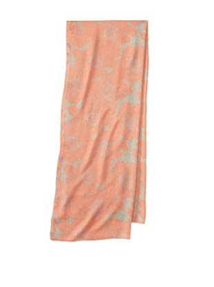 Raj Imports Women's Flower Scarf (Orange)