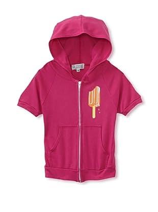 LA Lounge Girl's Popsicle Short Sleeve Hoodie