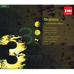 輸入盤 ブラームス協奏曲集(3枚組)のAmazonの商品頁を開く