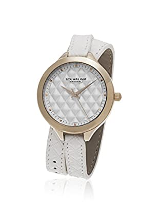 Stührling Original Women's 658.03 Vogue Analog Display Quartz White Watch