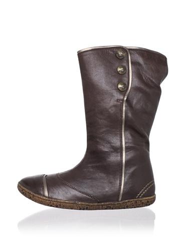 Kickers Kid's Bakula Boot (Toddler/Little Kid) (Dark Brown)
