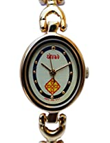 HMT Yellow Dial Analogue Watch for Girls (BLS 02)
