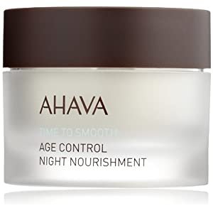 AHAVA Time to Smooth Age Control Night Nourishment, 1.7 fl. oz.
