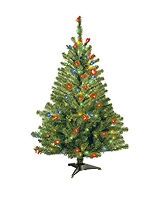 National Tree Company 4' Kincaid Spruce Tree With 100 Multi Lights