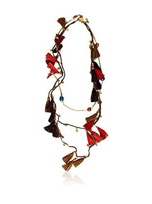 Alibey Halskette  braun