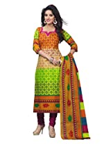 Shree Ganesh Clothing Women's Cotton Salwar Kameez Dress Material (SG-704 _Multi)