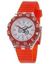 Maxima Analog White Dial Children's Watch - 04466PPKW