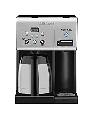 Cuisinart 10-Cup Programmable Thermal Coffeemaker with Hot Water System