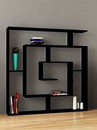 Decortie by Homemania Librería Labirent (Negro)
