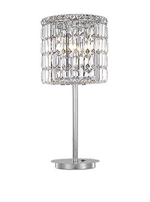 Crystal Lighting Maxim Collection Table Lamp, Chrome