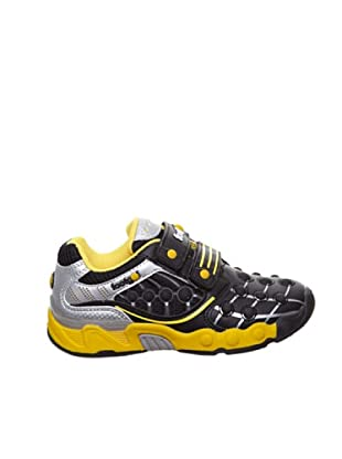 Footgol Sneakers Doppelklett (Schwarz)
