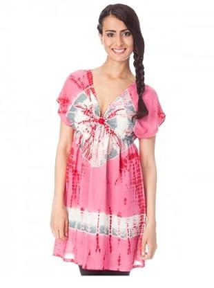 Kushi Tunic Top Batic (Pink)