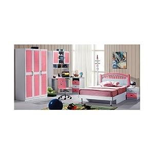 Mebelkart Girl Kid Bed Room Set : Pink