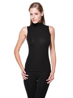 Cotonella Camiseta SM Cuello Alto (negro)