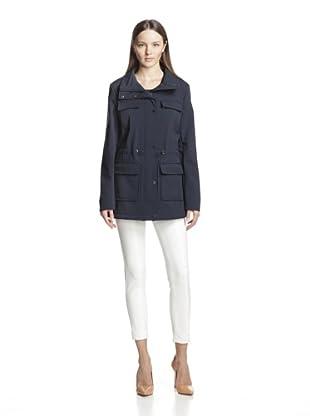 Calvin Klein Women's Soft Shell Coat (Navy)