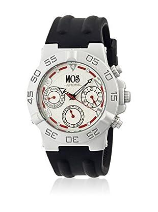 Mos Reloj con movimiento cuarzo japonés Mosam104 Negro 44  mm