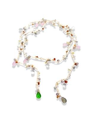 Nova Pearls Copenhagen Collar de Perla De Agua Dulce 4 - 6 mm