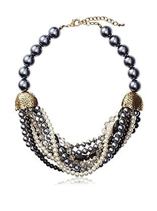 Leslie Danzis Gray Pearl Hammock Necklace