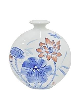 Three Hands Ceramic Floral Vase