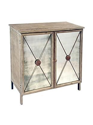 Winward Sheridan Ant Mirror Cabinet, Weathered Wood