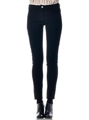 Eccentrica Pantalón Estrecho (negro)