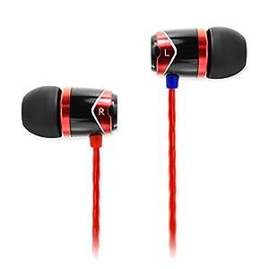 SoundMagic E 10 In-Ear Headphone with Mic (Red)