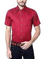 Allen Solly Men's Comfort Fit Shirt_ AMSH315G07224_40_ Red