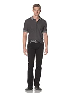 Just Cavalli Men's Straight Leg Jeans (Black)