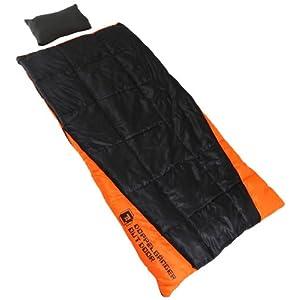 【クリックで詳細表示】Amazon.co.jp | DOPPELGANGER(ドッペルギャンガー) アウトドア 封筒型/マミー型 2WAYスリーピングバッグ S1-32 [最低使用温度 -8度] | スポーツ&アウトドア 通販