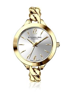 Stührling Original Uhr mit Schweizer Quarzuhrwerk 624M.02 goldfarben 30.5  mm